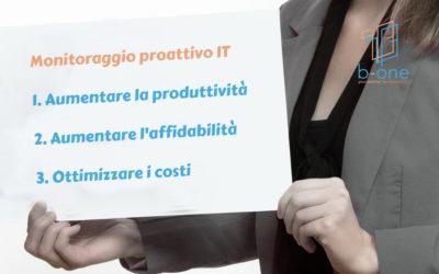 3 motivi per scegliere l'assistenza sistemistica proattiva