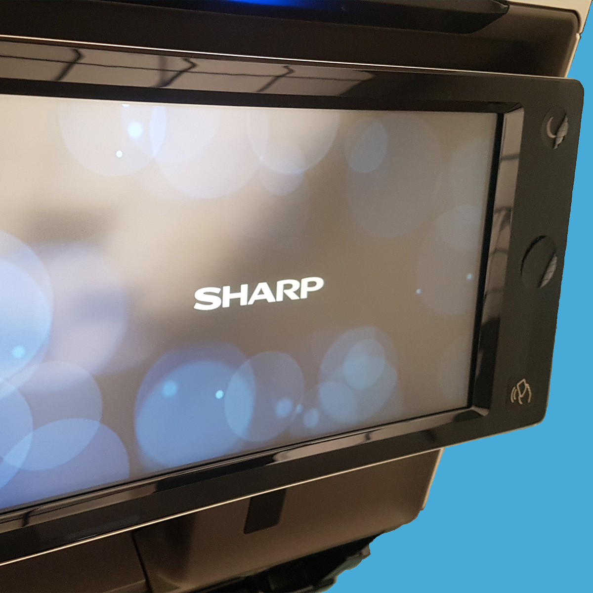 Sharp-MX4071-display